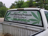 Custom Designed Rear Window Graphic
