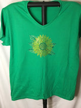 Rhinestone Ladies Sunflower T-shirt
