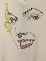 Marilyn Monroe Ladies Rhinestone T-Shirt