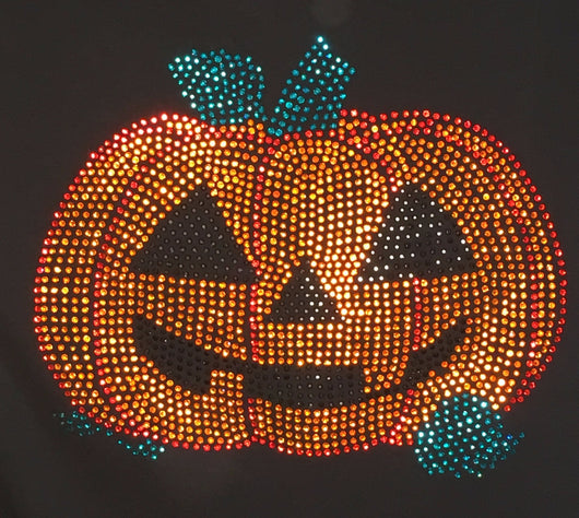 Ladies Halloween Jack-o-Lantern T-Shirt