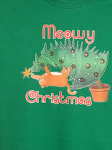 Meowy Christmas!  Get your own Fat Cat climbing the Christmas Tree.