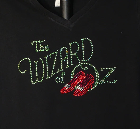 Rhinestone Ladies Wizard of Oz T-shirt