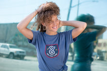 86Logo(Heather blue unisex)