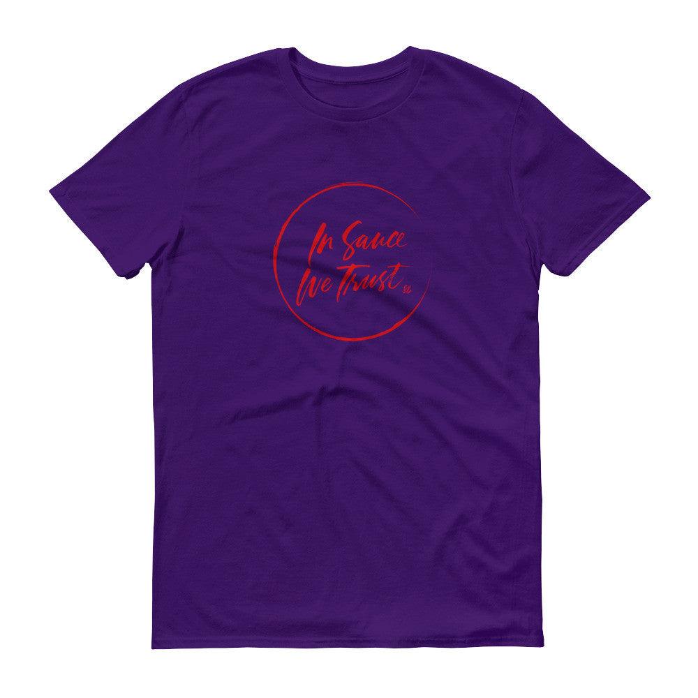 In Sauce We Trust(Purple unisex)