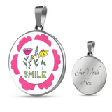 Smile Charm Necklace - Smile Charm Bracelet - Made by Paul