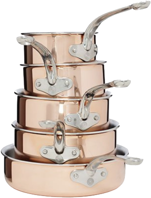 Copper Tri-Ply Cookware