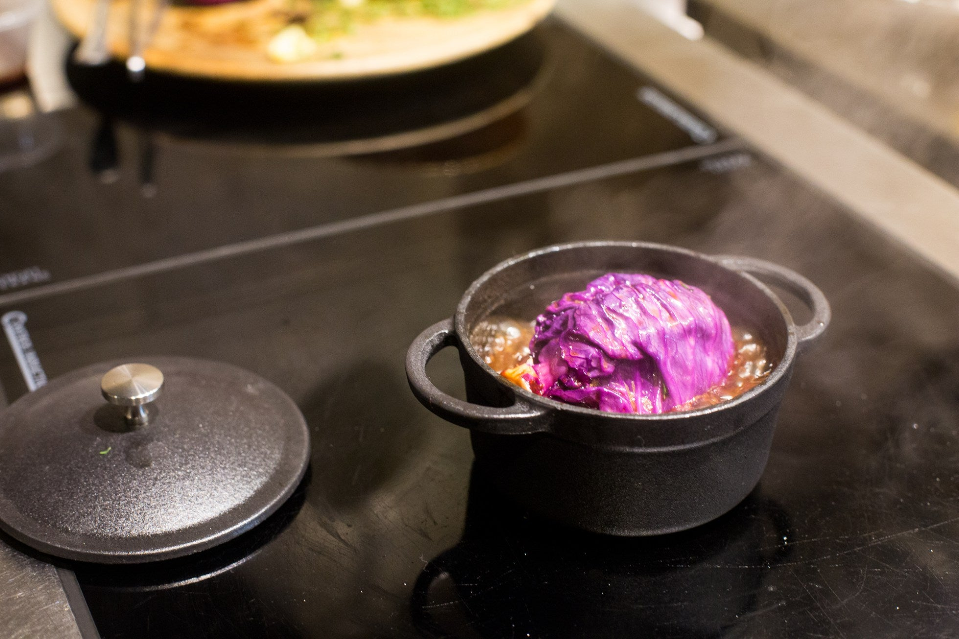 Pot Roasted Red Cabbage with Winter Spices by Jöro