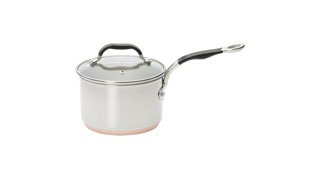Copper Base 16cm Saucepan
