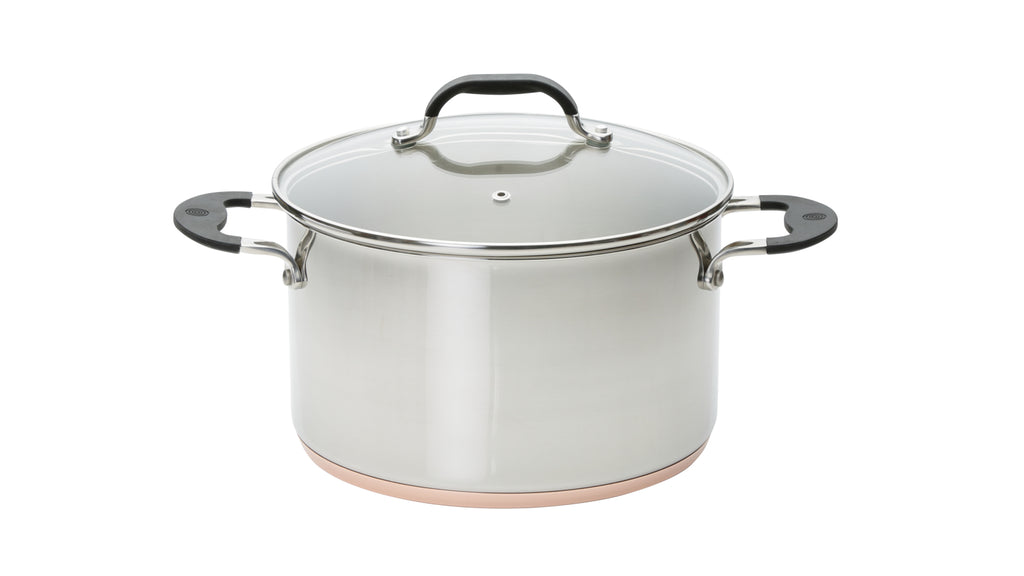Copper Base 24cm Stockpot