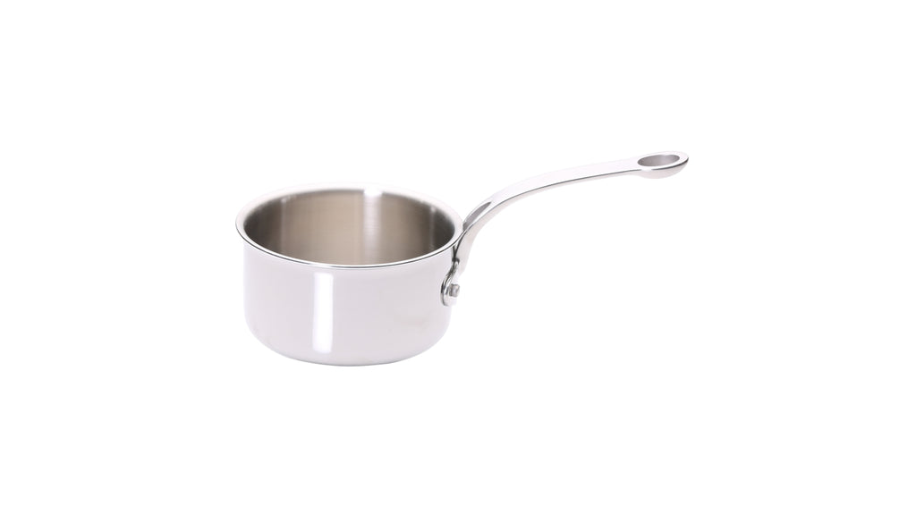 Stainless Steel Tri-Ply Set of 6 – 14cm, 16cm, 18cm & 20cm Saucepans; 24cm Sauté Pan and 24cm Frying Pan
