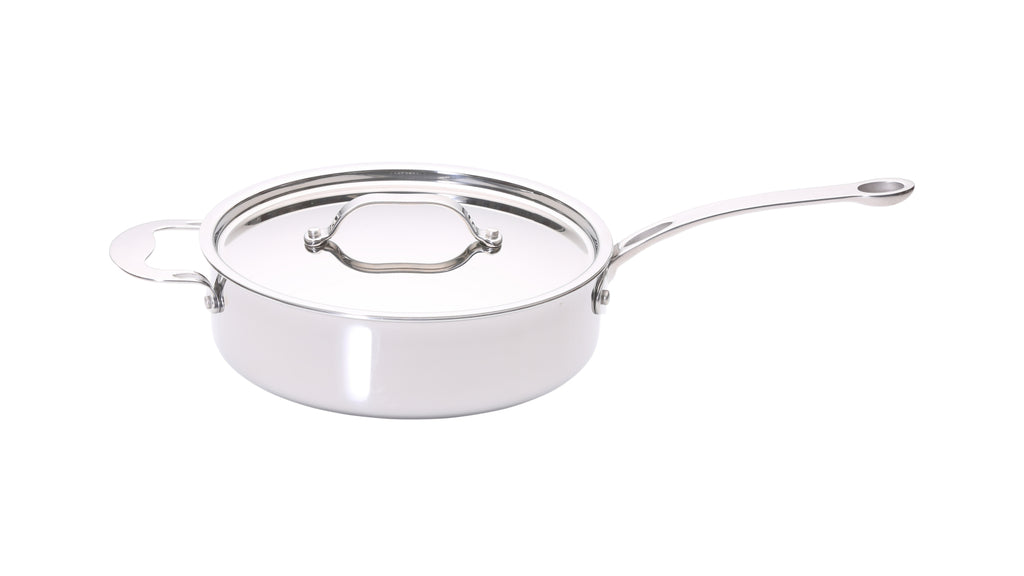 Stainless Steel Tri-ply 24cm Sauté Pan