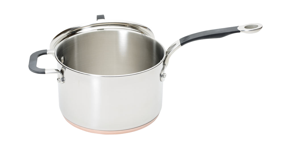 Copper Base 20cm Saucepan