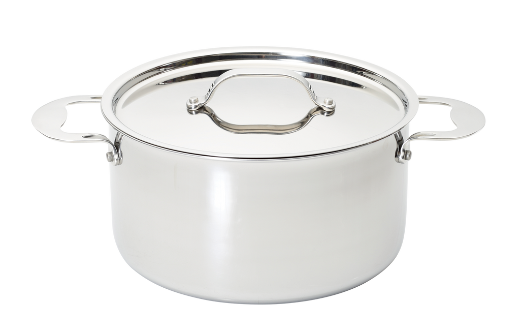 Stainless Steel Tri-ply 24cm Stockpot