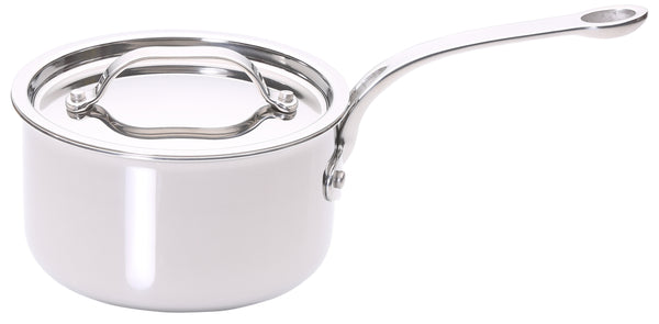 Stainless Steel Tri-ply 16cm Saucepan