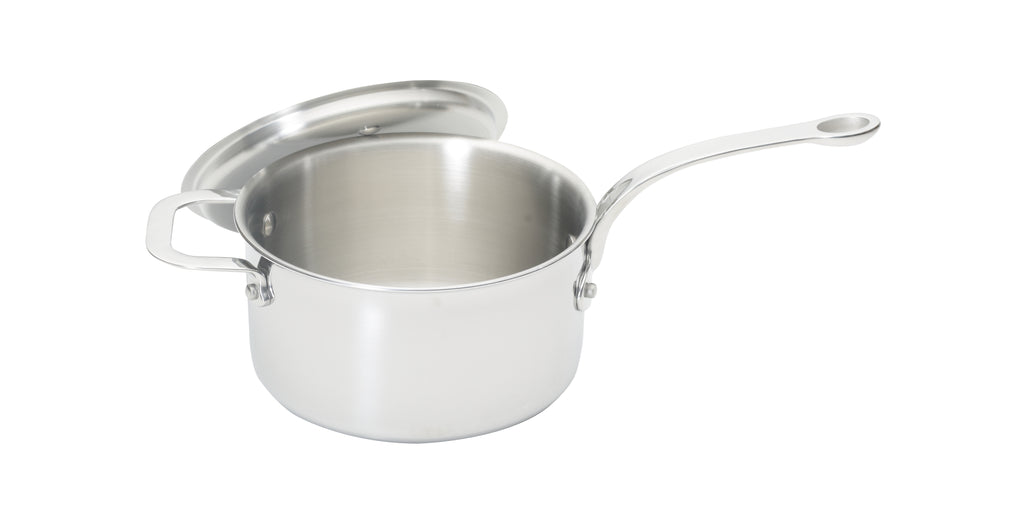 Stainless Steel Tri-ply 18cm Saucepan