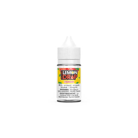 Lemon Drop strawberry salt nic juice