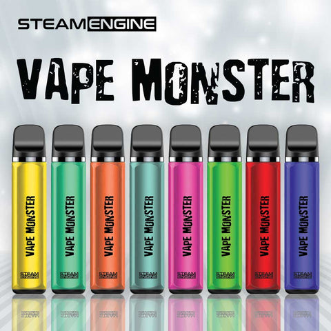 steam engine vape monster disposable vape