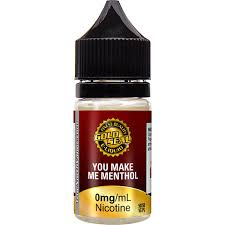 gold seal you make me menthol e-liquid vape juice