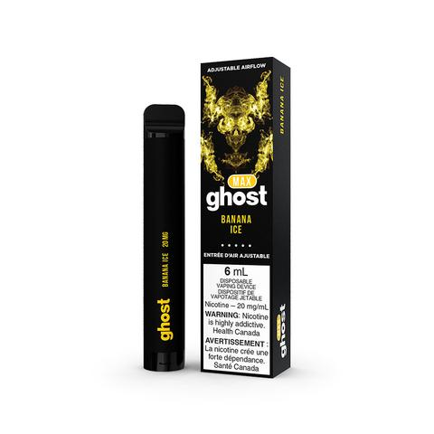 ghost max disposable vapes banana ice