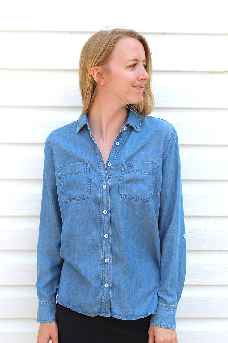 PENINSULA CHAMBRAY SHIRT
