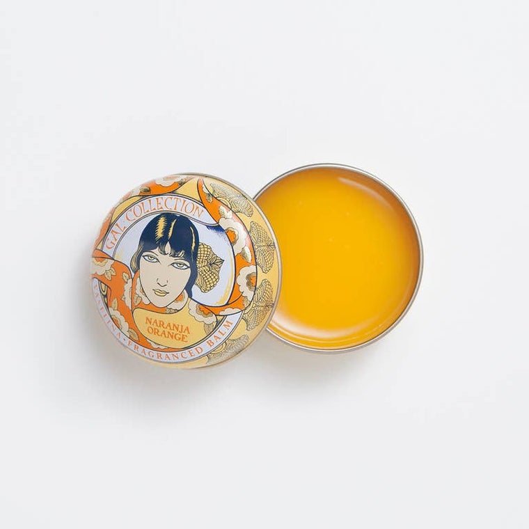 ZESTY ORANGE LIP BALM