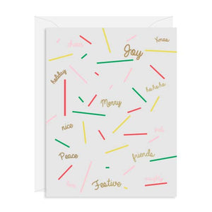 MERRY WORDS CARD