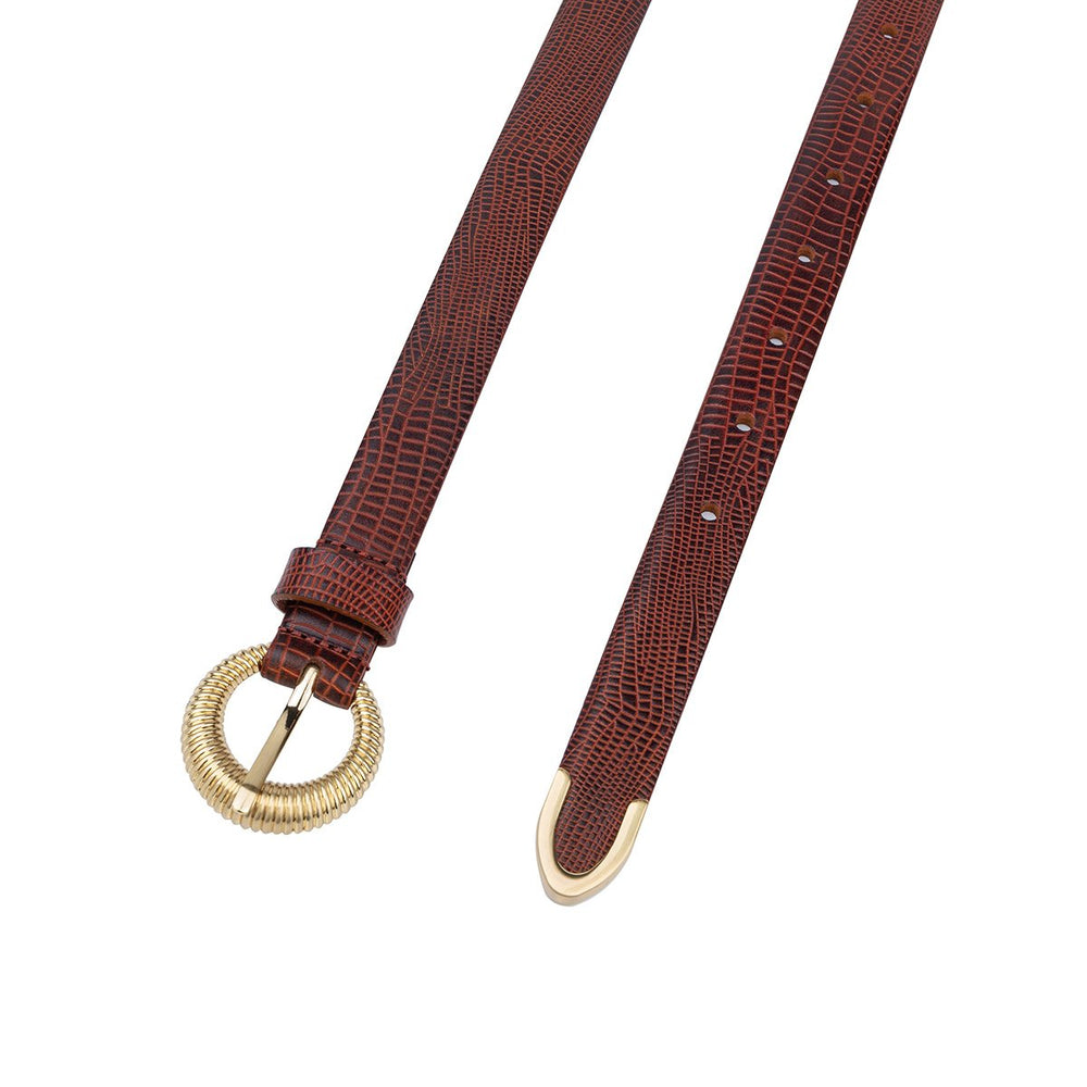 LOTKA BELT ANTIQUE TAN