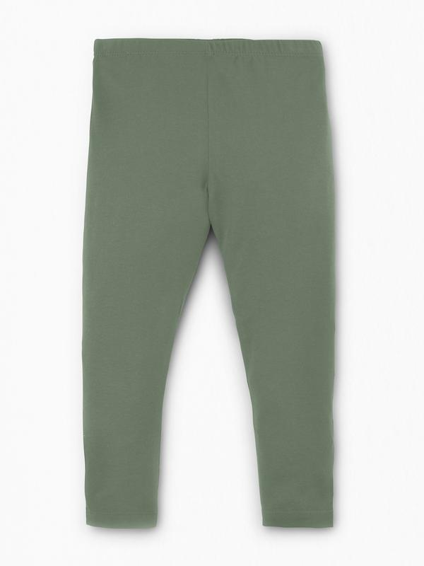 GREEN TODDLER LEGGINGS