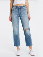 STRAIGHT UP JEANS IN FOOLS GOLD