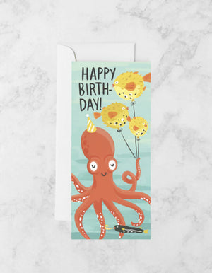 OCTOPUS PARTY CARD