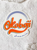 OKOBOJI DREAMIN STICKER