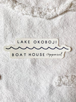 LAKE OKOBOJI STICKER
