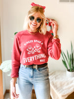 GINGER SPICE & EVERYTHING NICE SWEATSHIRT
