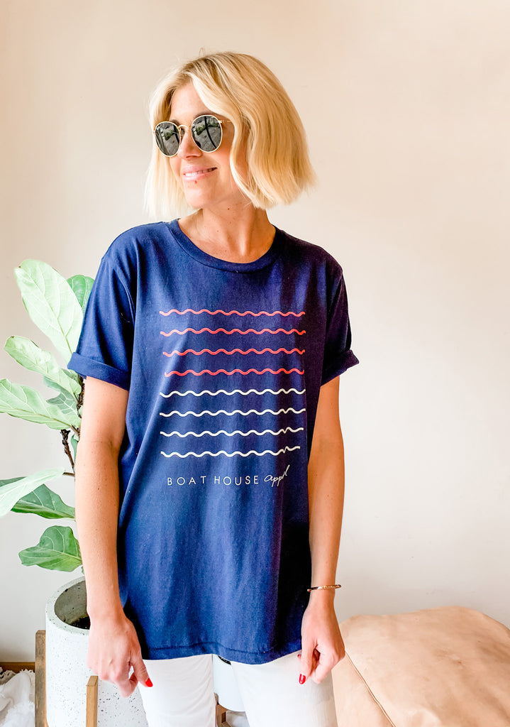 WANDERLUST WAVES T-SHIRT