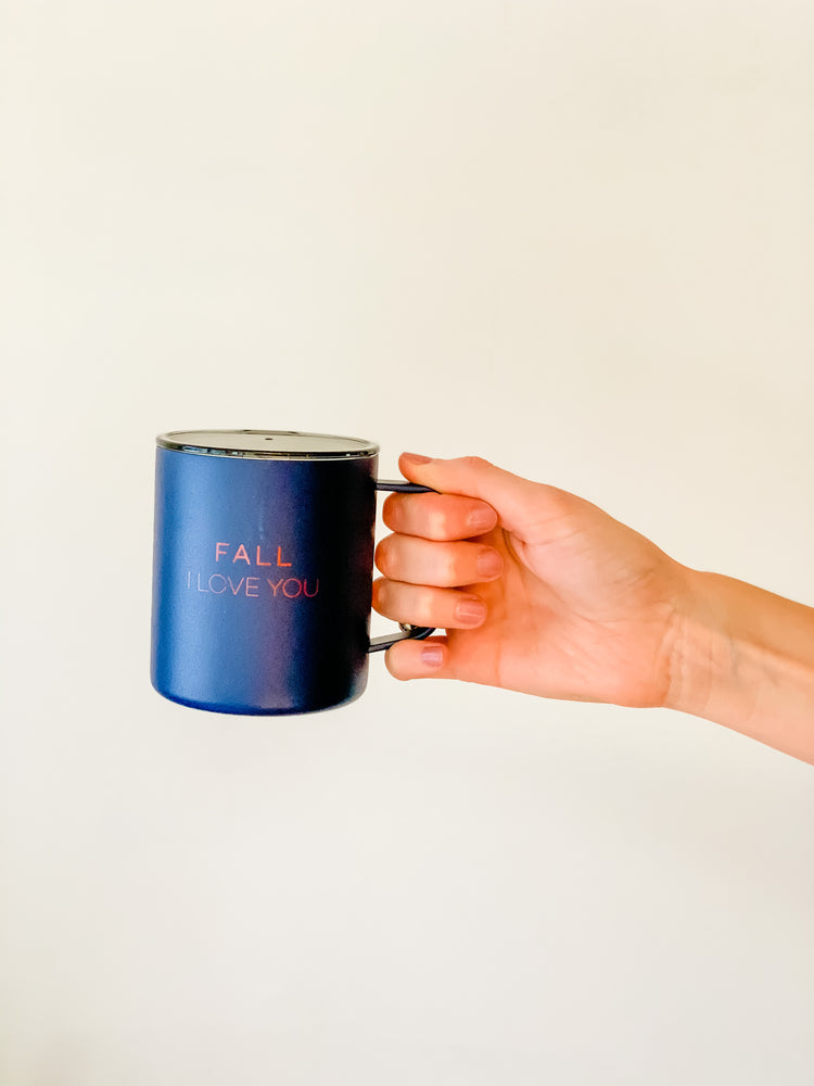 FALL I LOVE YOU TRAVEL MUG