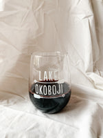 BREEZY POINT STEMLESS WINE GLASS