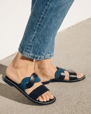 Load image into Gallery viewer, IMOGEN LEATHER SANDAL