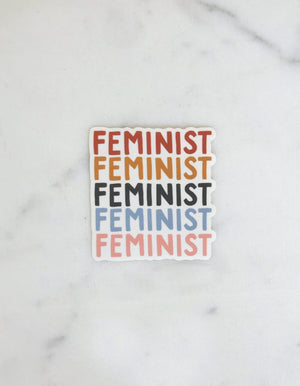 Load image into Gallery viewer, FEMINIST STICKER