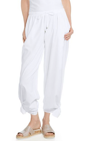 PETRA WIDE LEG PANTS WHITE
