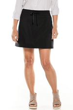 MENDOCINO TRAVEL SKORT BLACK