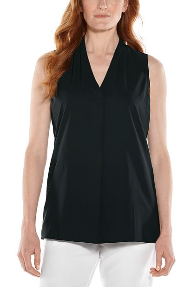 Load image into Gallery viewer, RAVAL TUNIC TANK TOP BLACK