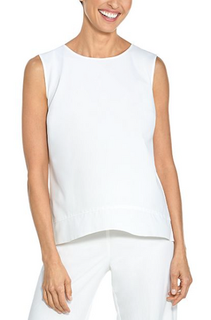 ST. TROPEZ SWING TANK TOP WHITE