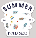SUMMER ON THE WILD SIDE STICKER