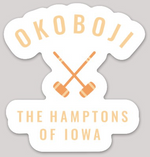 HAMPTONS OF IOWA CROQUET STICKER