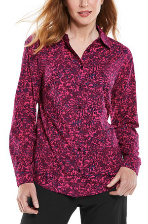 Load image into Gallery viewer, RHODES SHIRT AUTUMNAL FLORAL