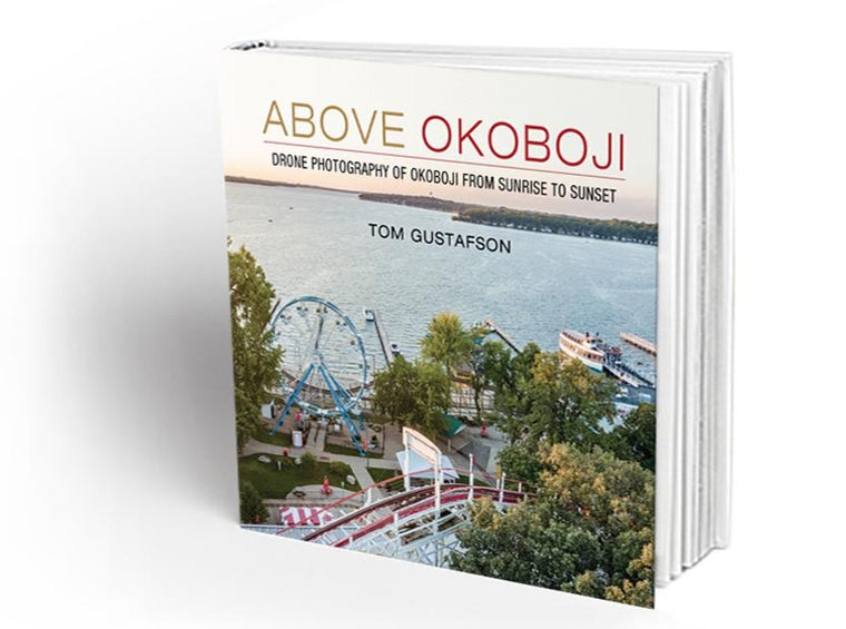 NEW ABOVE OKOBOJI BOOK