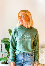 FALL I LOVE YOU FLEECE