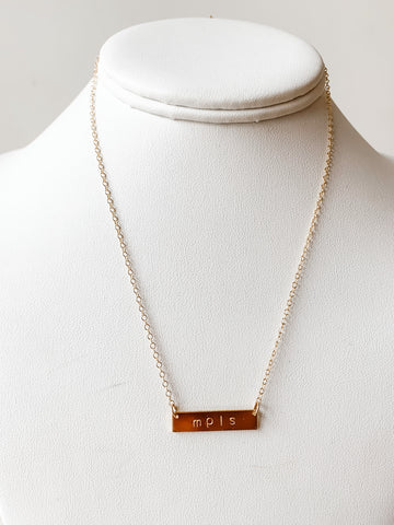 ALWAYS A MPLS BABE NECKLACE