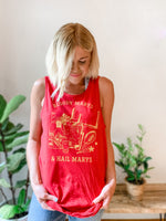 BLOODY MARYS & HAIL MARYS TANK RED/YELLOW