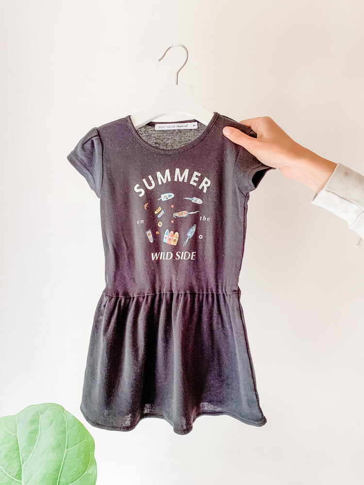 KIDS SUMMER ON THE WILD SIDE DRESS